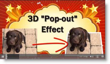 3D Popout Picture