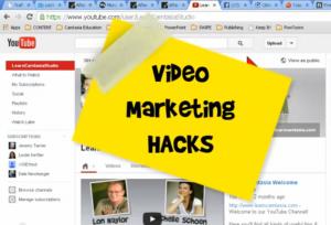 Video Marketing Hacks